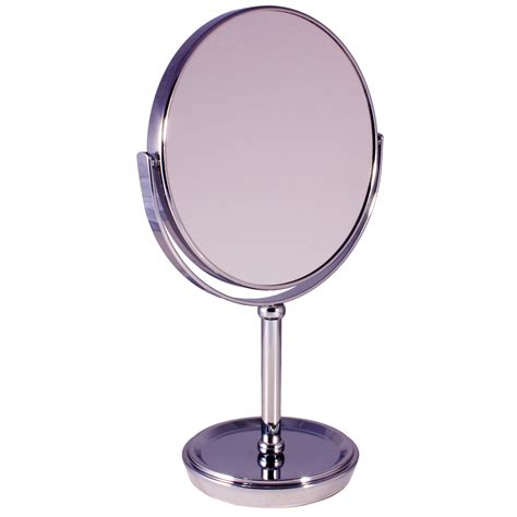 Vanity Magnifying Mirror by Free Standing Pedestal Vanity Mirror 5x Magnifying