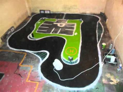 how to build a rc track in my backyard how to make a rc drifting track youtube