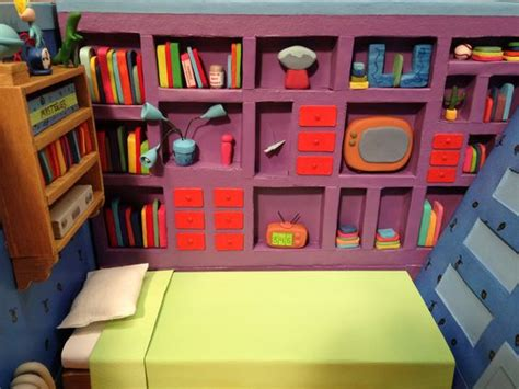 Hey Arnold Room by Hey Arnold Miniature And Dioramas On