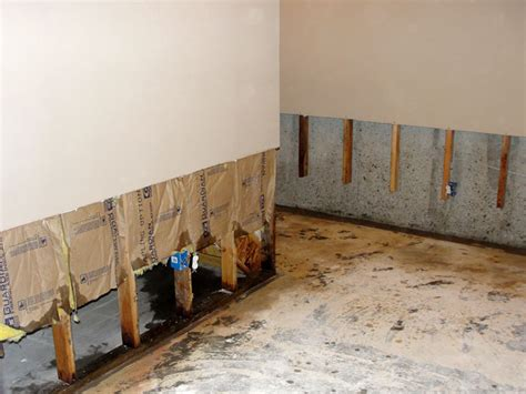 basement wall restoration drywall repair connecticut