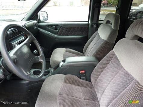 gmc sonoma interior 1997 gmc sonoma sls sport extended cab 4x4 interior photo