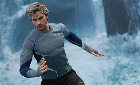 Quicsilver Silver marvel quicksilver sixth scale figure by toys
