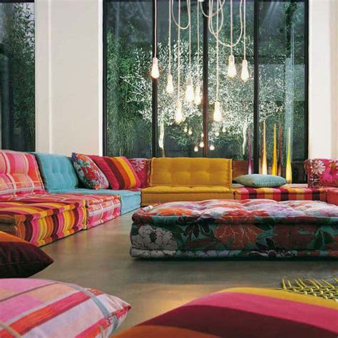 colorful loveseats 20 inspiring ideas colorful living room decoration with