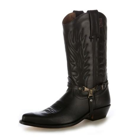 Handmade Mexican Boots - handmade cowboy boots made of black leather comfortable