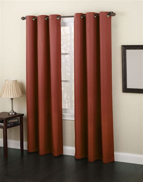 48 inch curtains 918 monterey grommet 48 inch x 84 inch paprika panel the