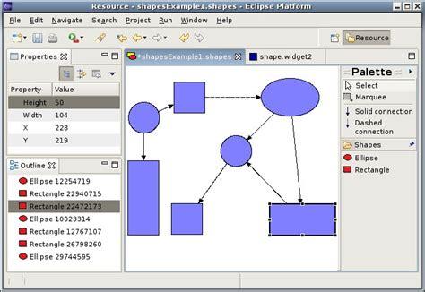 diagram editor a shape diagram editor