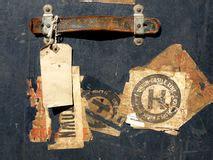 Kofferaufkleber Mexiko by Aufkleber Der Reise Stockfotos Bild 33102873