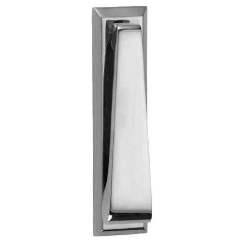Croft Slim Vertical Door Knocker Polished Chrome Front Door Furniture Chrome