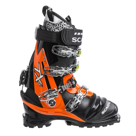 ski boots mens scarpa tx pro telemark ski boots for save 38