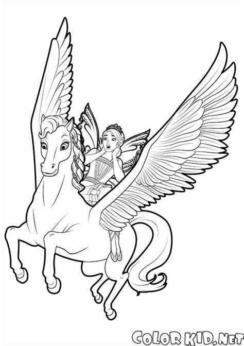 pegasus coloring pages coloring page and pegasus