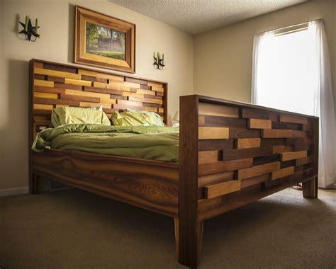 western bed frames western cedar bed frame from leftover site