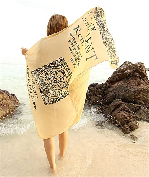 drape yourself in literature with book scarves from