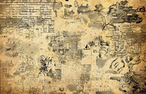 legend of zelda map painting zelda map wallpaper wallpapersafari