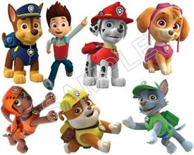 Wall Stickers Jungle image paw patrol iron on transfers 011 jpg paw patrol