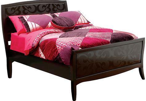 what is a twin bed belle noir dark merlot 3 pc twin bed beds dark wood