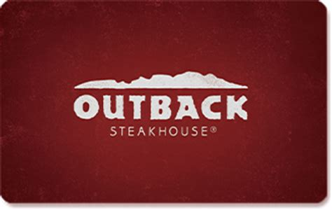 restaurant gift cards outback steakhouse - Gift Card Outback
