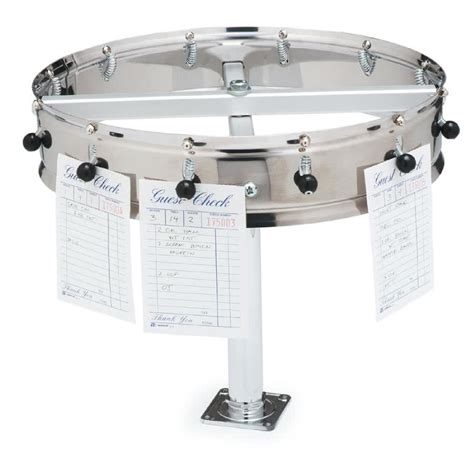 Kitchen Counter Storage Ideas carlisle 3812cm 12 clip counter mount order wheel ticket