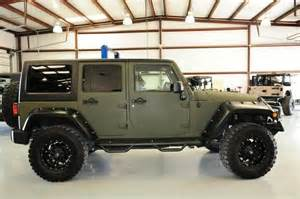Matte Jeep 2011 Ls Conversion Edition Jeep Wrangler X Loaded And