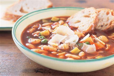 Soups On Minestrone Soup by Best Minestrone Soup Recipe
