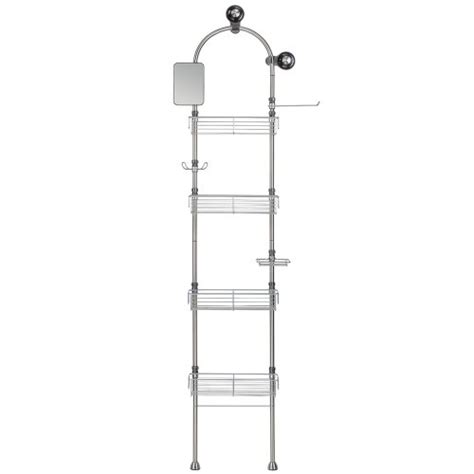 interdesign forma bathroom floor standing shower caddy