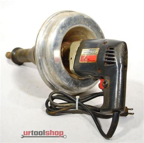 Ridgid Kollmann Hand Held Electric Drain Cleaner Sewer Snake 5881 868   eBay