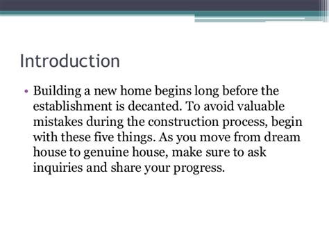 features to consider when building a new home 5 things to consider when building a new home