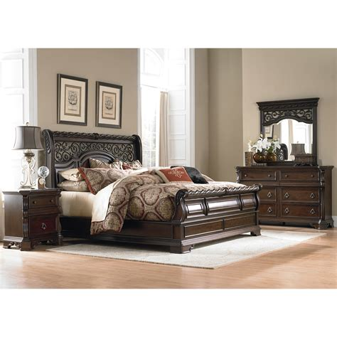 liberty furniture bedroom sets liberty furniture arbor place customizable bedroom set