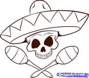 Draw A How To Draw A Sombrero Step By Step Skulls Pop Culture