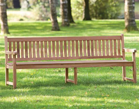 garden park bench garden park teak bench 210cm