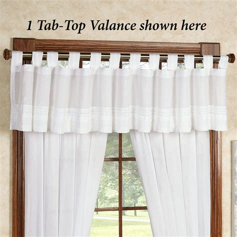tab top cotton curtains cotton voile tab top curtains soozone