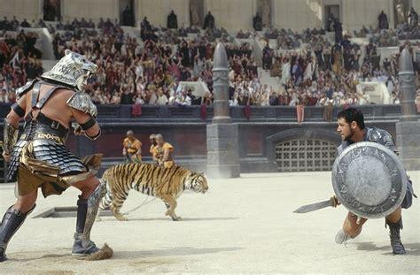 gladiator film lion gladiator games past present future part 1 history