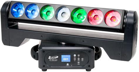 Lu Magic Led 15 Watt elation acl 360 bar 7x 15 watt rgbw led moving bar pssl