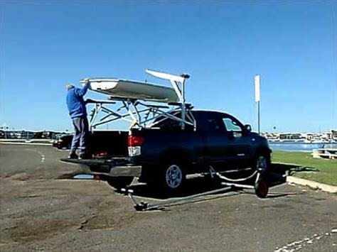How To Transport A by How To Load A Laser Sailboat On A Truck
