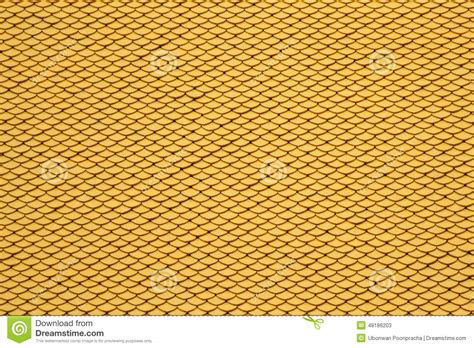 yellow pattern tiles yellow seamless roof tiles background stock photo image
