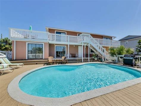 destin house rentals with boat slip 4br home with private pool and boat slip p vrbo