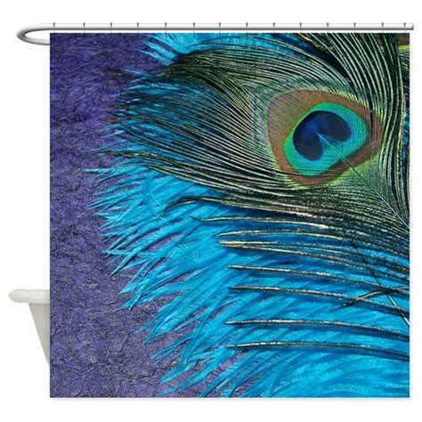 peacock colour curtains purple and teal peacock shower curtain by christyoliver