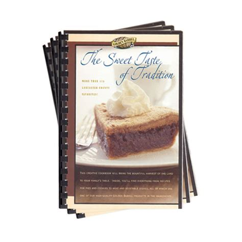 the sweet taste of morning books the sweet taste of tradition recipe book golden barrel