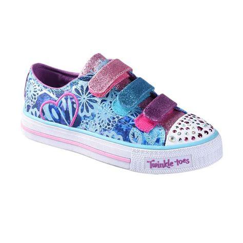 Sepatu Skechers Anak jual skechers ske10630ltqp twinkle toes sepatu anak