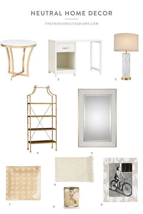 home decor neutral neutral home decor the fashionista s diary