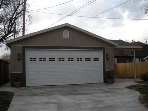 24x30 Garage by Utah Garage Prices Bonfire Building