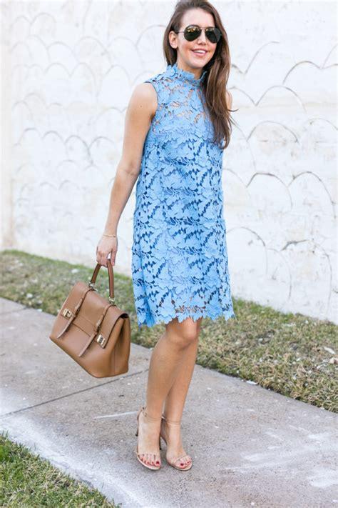 Blue Baby Dress havins wears a baby blue lace dress with stuart