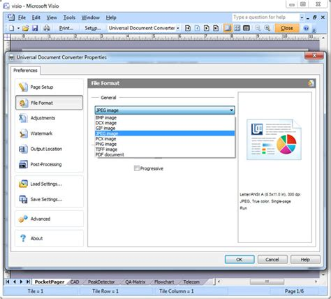 visio document convert visio to jpeg universal document converter