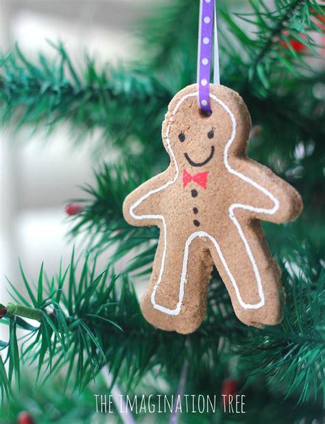 gingerbread clay recipe  ornaments preschool