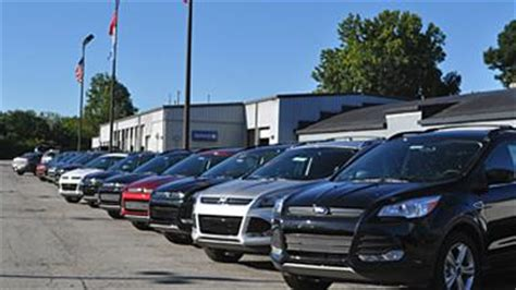 Ford Dealerships Indianapolis Capitol City Ford Car Dealership In Indianapolis In 46219