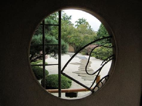 window   zen garden   japanese garden built