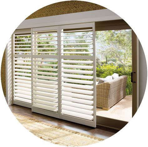 Curtain Ideas For Sliding Patio Doors Patio Amp Sliding Glass Door Window Treatments Hunter Douglas