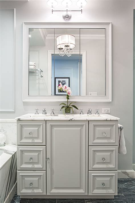 Small Sink Vanity Bathroom Contemporary With