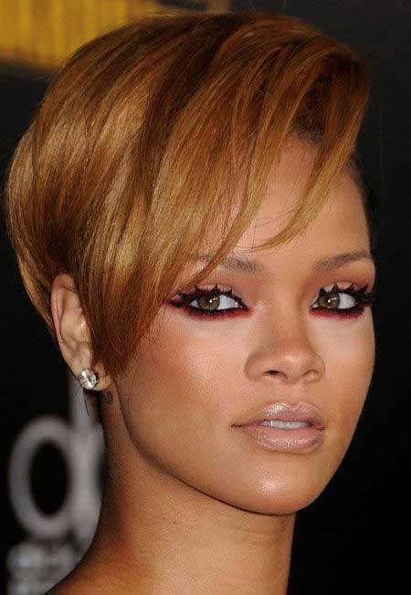 hairstylesforwomen shortcuts short hairstyles and cuts rihanna short cut with longer