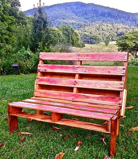 outdoor pallet bench outdoor pallet bench pallet furniture diy