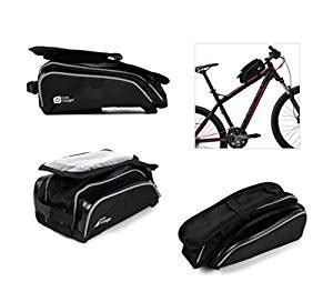 Bestseller Mountain Bike Bag Saddle Pack Equipment Tas duragadget shockproof bicycle front frame saddle bag with pouch and